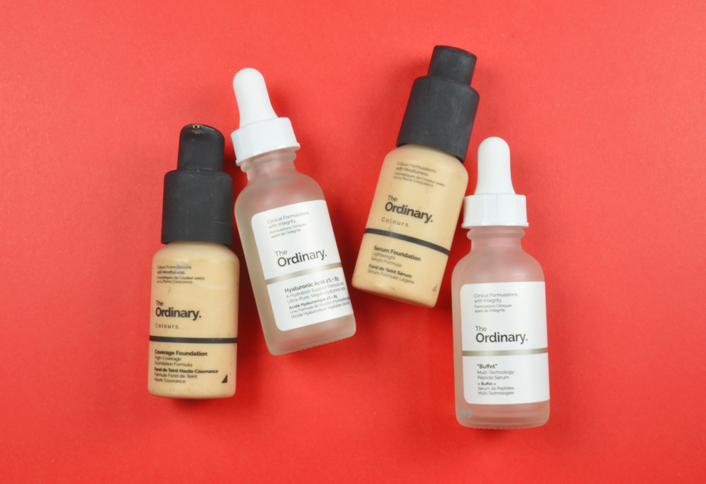 The Ordinary, fondotinta e skincare