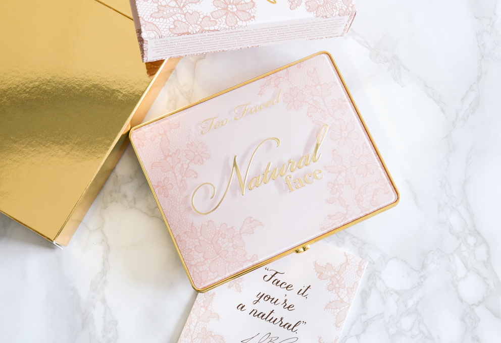 Natural face palette Too Faced